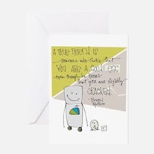Wonderful Imperfection Greeting Cards