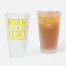 NORMS FOOT2 Drinking Glass