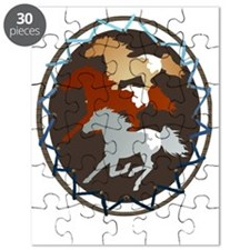 Horse and Shield Trans Puzzle