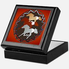 Horse and Shield_mpad Keepsake Box