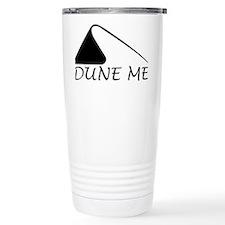 Dune Me Black Travel Mug