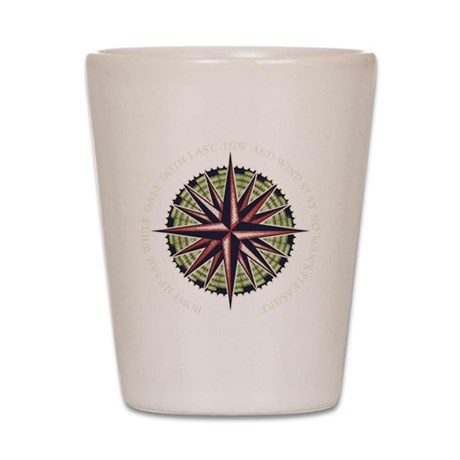 compass-rose3-DKT Shot Glass