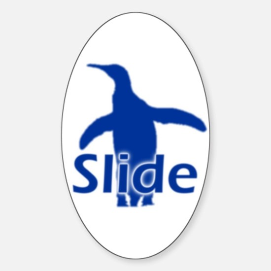 Slide Oval Decal