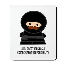 Great Responsibility Ninja Mousepad