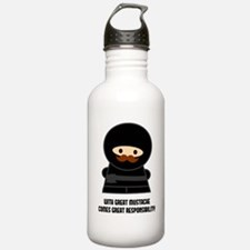 Great Responsibility Ninja Water Bottle