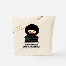 Great Responsibility Ninja Tote Bag