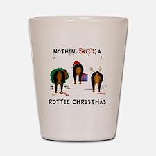 RottieShirt Shot Glass