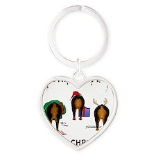 RottieShirt Heart Keychain