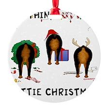 RottieShirt Ornament