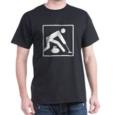 Curling Logo T-Shirt