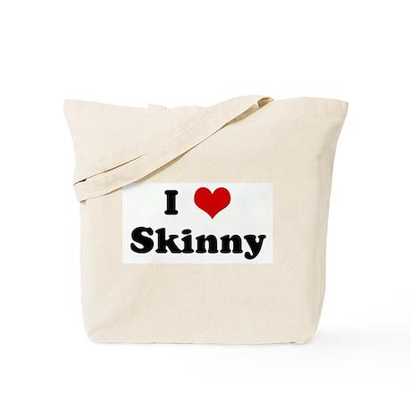 I Love Skinny Tote Bag