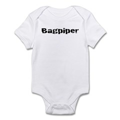 Bagpiper (Hardcore) Infant Bodysuit
