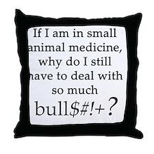 bullsheet Throw Pillow