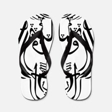 ontol anarch arabic lion Flip Flops