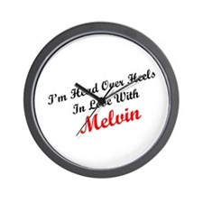 In Love with Melvin Wall Clock