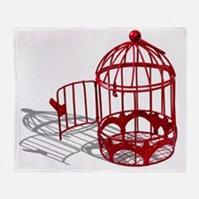 BirdHouse092110 Throw Blanket