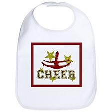 cheer blanket gold1 Bib