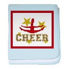 cheer blanket gold1 baby blanket