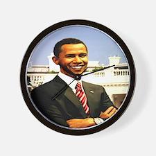 Brack Obama smart president USA Wall Clock