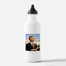 Brack Obama smart president USA Water Bottle