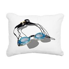 SwimmingGoggles091210 Rectangular Canvas Pillow