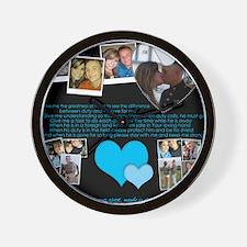 Melanie Toledo Wall Clock