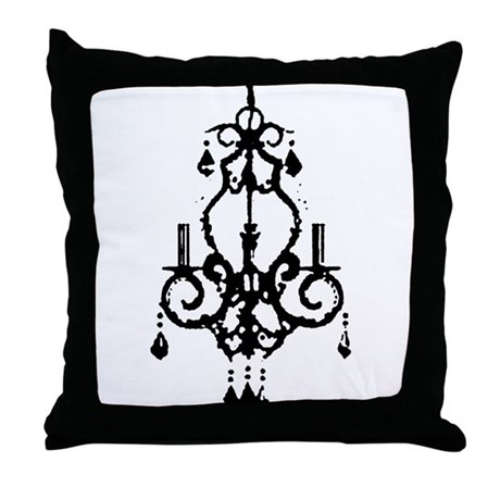 chandeliers Throw Pillow