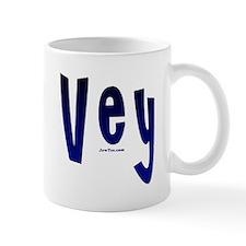Personalized Oy Vey! Mug Oy Vey flat Mug