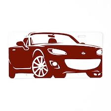 NC2 copper Aluminum License Plate