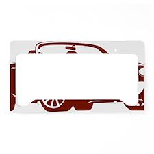 NC2 copper License Plate Holder