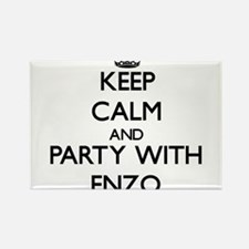 Keep Calm and Party with Enzo Magnets