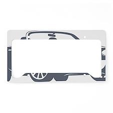 NC2 gray License Plate Holder