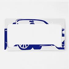 NC2 blue License Plate Holder