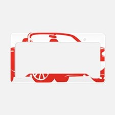 NC2 red License Plate Holder