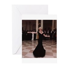 Princess Diana Dancing Greeting Cards (Package of