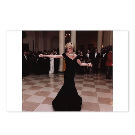 Princess Diana Dancing Postcards (Package of 8)
