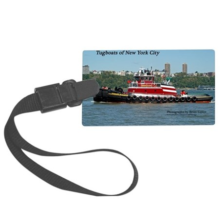 CalendarCover-2 Large Luggage Tag
