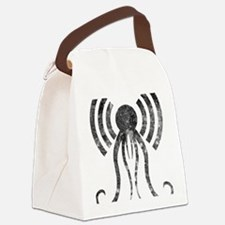 hp-podcast-logo-washout-black Canvas Lunch Bag