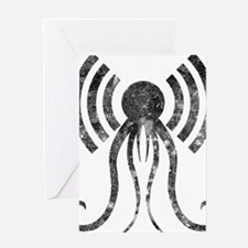 hp-podcast-logo-washout-black Greeting Card