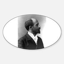 W E B Dubois Oval Decal