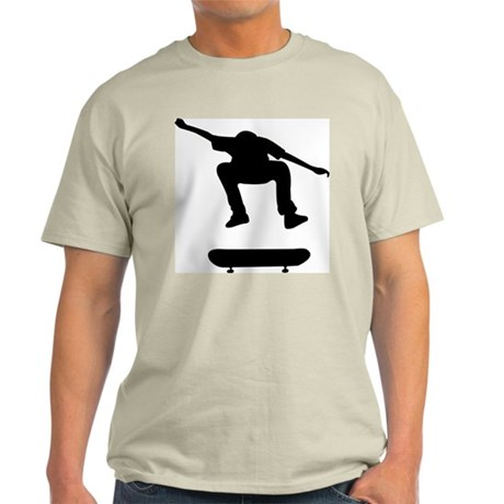 Skateboarding Ash Grey T-Shirt