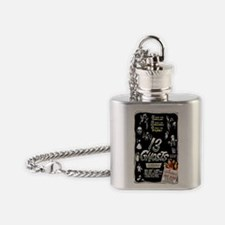13 Ghosts Flask Necklace