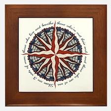 compass-rose4-LTT Framed Tile