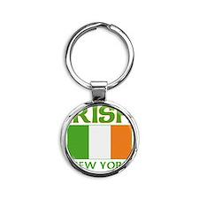 IRISH NEW YORK Round Keychain