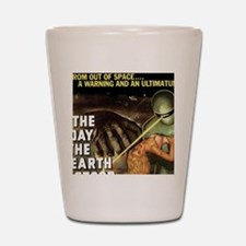 The Day the Earth Stood Still Shot Glass