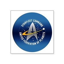 "starfleet_command Square Sticker 3"" x 3"""