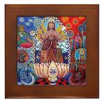 Bickman 'Until the End of Time' Framed Tile