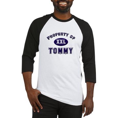 My heart belongs to tommy Baseball Jersey