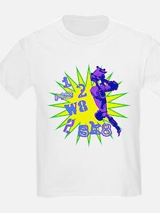 I H8 2 W8 2 SK8 Kids T-Shirt