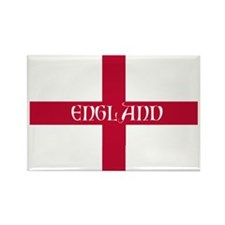 NC English Flag - England Perl Rectangle Magnet
